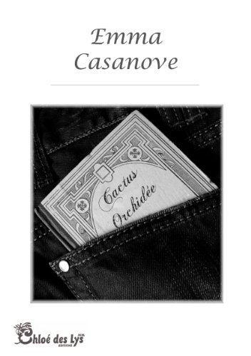 Couverture de l'ouvrage Cactus Orchidée d'Emma Casanove